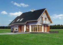Архитектурный проект большой загородной виллы с шестью комфортабельными комнатами