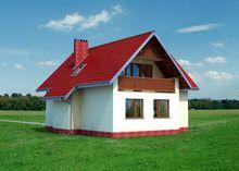 Компактный загородный особняк для небольшой семьи