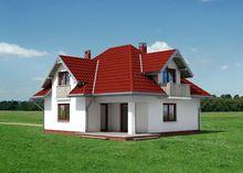 Двухэтажный особняк с просторной кухней-столовой