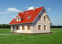 Дом с мансардой 12м на 9м