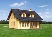 Современный двухэтажный особняк с просторными помещениями