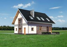 Уютный жилой дом с просторной гостиной