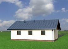 Проект гаража с кладовкой на 50 m²