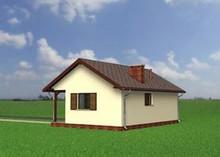 Проект гаража с санузлом