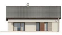 Проект простого одноэтажного коттеджа с чердаком