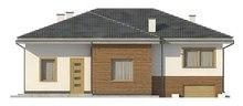Проект дома с гаражом в цокольном этаже