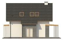 Уютный проект с гостевой спальней на первом этаже