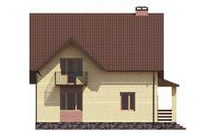 Проект дома с рациональным распределением площадей