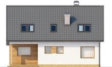 Проект экономичного комфортного дома с мансардой