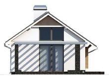 Проект маленького одноэтажного коттеджа