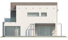 Проект коттеджа с гаражом на два автомобиля