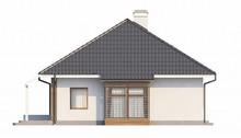Проект дома с мансардой и дополнительной небольшой спальней