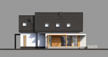 Cтильный жилой дом с мансардой