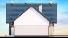 Нарядный жилой дом с уютными балкончиками