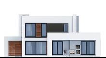 Двухэтажный дом с спальными апартаментами на первом и втором этаже