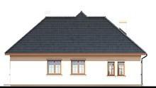 Проект одноэтажного жилого дома с просторной зоной отдыха