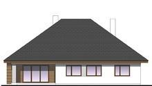 Одноэтажный коттедж с четырьмя спальнями