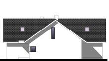 Современный мансардный дом с четырьмя спальнями