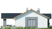 Одноэтажный загородный дом с тремя спальнями