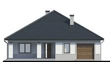 Одноэтажный дом с гаражом и тремя спальнями
