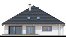 Одноэтажный дом с удобными спальнями