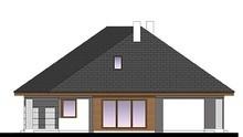 Проект одноэтажного дома с четырьмя спальнями и кабинетом