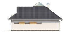 Проект коттеджа с боковой террасой