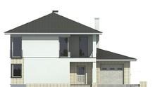 Светлый красивый дом с шикарной террасой