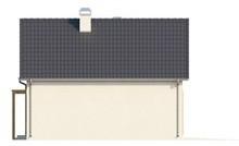 Проект светлого удобного загородного коттеджа с мансардой и гаражом