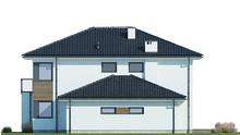 Шикарный дом с застекленными балконами и террасами