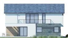 Стильный роскошный дом с просторной террасой