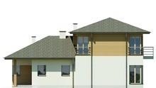 Жилой дом со спальнями на разных уровнях