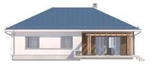 Проект загородного дома с многоскатной крышей