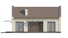Проект современного одноэтажного частного коттеджа