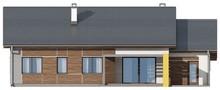 Проект одноэтажного дома с тремя спальнями и гаражом