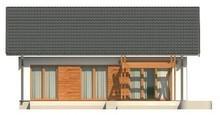 Проект одноэтажного дома в классическом стиле