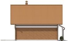 Проект небольшого дома с кабинетом на первом этаже