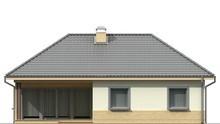 Проект дома с угловым окном в кухне