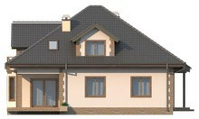 Волшебный домик - проект готового для строительства волшебного домика с мансардой