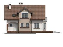 Проект традиционного дома с мансардой и эркером