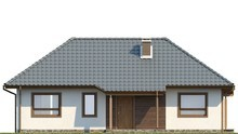 Проект одноэтажного классического дома