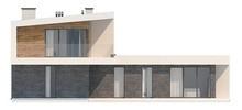 Оригинальный дом Т-образной формы в современном стиле