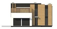 Проект современного дома с двумя кухнями