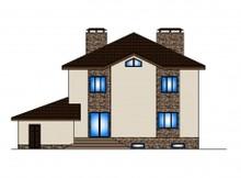 Загородный особняк с просторной террасой в классическом стиле