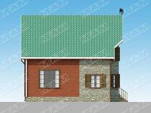 Архитектурный проект небольшого дома площадью 150 m²