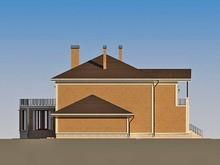 Архитектурный проект красивого дома для большой семьи