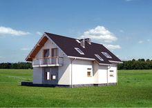 Красивый особняк мансардного типа на 4 жилые комнаты