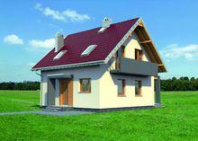 Стильный загородный особняк с небольшими красивыми комнатами