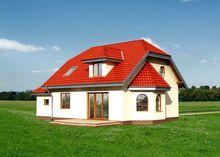 Архитектурный проект компактного дома с площадью 150 m²