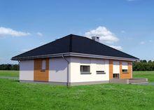 Одноэтажный дом площадью 100 квадратов